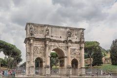 Πύλη στην αρχαία Ρώμη, Ιταλία Στοκ Εικόνες