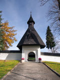 Πύλη στην εκκλησία σε Tvrdosin, Σλοβακία Στοκ Εικόνα