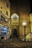 Πύλη στη μεσαιωνική πόλη στην Κοΐμπρα Στοκ Φωτογραφίες