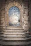 Πύλη στη φαντασία στοκ φωτογραφία με δικαίωμα ελεύθερης χρήσης