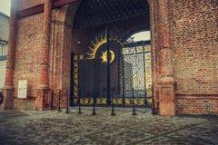 Πύλη στον πύργο στοκ εικόνα