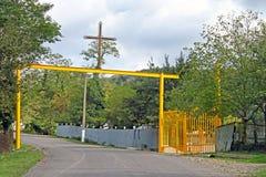 Πύλη στο μοναστήρι Gelati, Γεωργία Στοκ Εικόνα
