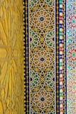 Πύλη στο παλάτι του βασιλιά του Μαρόκου Στοκ Φωτογραφία