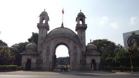 Πύλη στο παλάτι VAdodara Laxmivilash Στοκ φωτογραφία με δικαίωμα ελεύθερης χρήσης