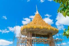 Πύλη Ταϊλανδός ναών επισκευής Στοκ εικόνες με δικαίωμα ελεύθερης χρήσης