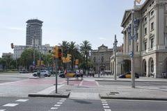 Πύλη τετράγωνο Λα Πάου de στοκ εικόνες με δικαίωμα ελεύθερης χρήσης