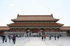 Πύλη της ανώτατης αρμονίας - απαγορευμένη πόλη - Πεκίνο - Κίνα (2) Στοκ Εικόνες