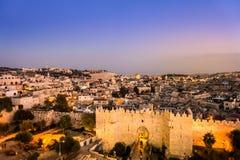 Πύλη της Δαμασκού και Ιερουσαλήμ, Ισραήλ Στοκ φωτογραφία με δικαίωμα ελεύθερης χρήσης