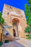 Πύλη της δικαιοσύνης, Puerta de Λα Justicia, Alhambra, Γρανάδα, Ισπανία, Στοκ φωτογραφία με δικαίωμα ελεύθερης χρήσης