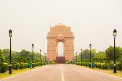 Πύλη της Ινδίας, Νέο Δελχί, ΙΝΔΙΑ Στοκ φωτογραφία με δικαίωμα ελεύθερης χρήσης