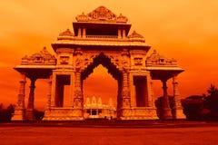 Πύλη της Ινδίας στο ηλιοβασίλεμα Στοκ Εικόνες