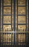 Πύλη του βαπτιστηρίου του SAN Giovanni Φλωρεντία στοκ εικόνες με δικαίωμα ελεύθερης χρήσης