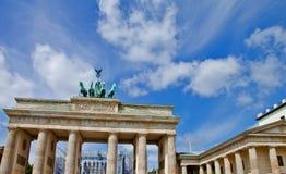 πύλη του Βερολίνου Βραδεμβούργο Στοκ Φωτογραφία