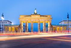 πύλη του Βερολίνου Βραδεμβούργο στοκ εικόνα με δικαίωμα ελεύθερης χρήσης