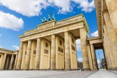πύλη του Βερολίνου Βραδ& στοκ φωτογραφίες με δικαίωμα ελεύθερης χρήσης