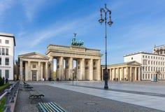 Πύλη του Βραδεμβούργου (σκαπάνη Brandenburger), Βερολίνο στοκ εικόνες με δικαίωμα ελεύθερης χρήσης