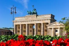 Πύλη του Βραδεμβούργου (σκαπάνη Brandenburger), Βερολίνο στοκ φωτογραφία με δικαίωμα ελεύθερης χρήσης