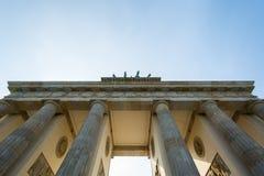 πύλη του Βραδεμβούργου Στοκ Εικόνες