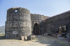 Πύλη του ιστορικού οχυρού εποχής Mughal Στοκ φωτογραφία με δικαίωμα ελεύθερης χρήσης
