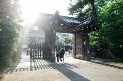 Πύλη του Κιότο Kamigyo Στοκ Εικόνες