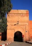 Πύλη του Μαρόκου Μαρακές Bab Ksiba Στοκ Εικόνα