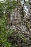 Πύλη του ναού TA Prohm, Angkor Wat, Καμπότζη Στοκ εικόνες με δικαίωμα ελεύθερης χρήσης