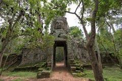 Πύλη του ναού TA Prohm, Angkor Wat, Καμπότζη Στοκ Φωτογραφίες