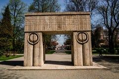 Πύλη του φιλιού Στοκ φωτογραφία με δικαίωμα ελεύθερης χρήσης