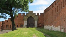 Πύλη του Castle Στοκ εικόνα με δικαίωμα ελεύθερης χρήσης