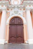 Πύλη του ST Casimir Church (circa 1749). Vilnius, Λιθουανία Στοκ φωτογραφία με δικαίωμα ελεύθερης χρήσης