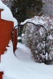 Πύλη το χειμώνα Στοκ Φωτογραφίες