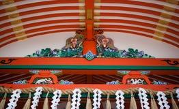 Πύλη των λαρνάκων Inari Fushimi Στοκ Εικόνες