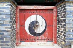 Πύλη φρουρίων περιοχών †«Hwaseong παγκόσμιων κληρονομιών της ΟΥΝΕΣΚΟ της Κορέας στοκ εικόνες με δικαίωμα ελεύθερης χρήσης
