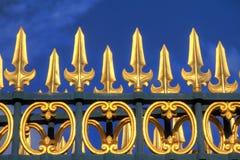 πύλη χρυσή Στοκ φωτογραφίες με δικαίωμα ελεύθερης χρήσης