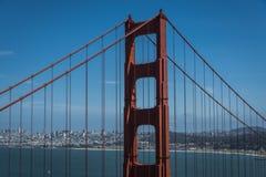 πύλη χρυσό SAN Francisco γεφυρών στοκ φωτογραφίες