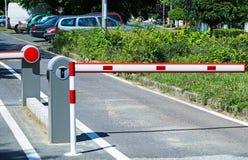 Πύλη χώρων στάθμευσης Στοκ φωτογραφία με δικαίωμα ελεύθερης χρήσης