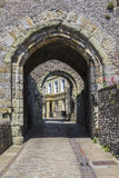 Πύλη Barbican σε Lewes Castle Στοκ εικόνες με δικαίωμα ελεύθερης χρήσης