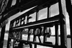 Πύλη Dachau Στοκ φωτογραφία με δικαίωμα ελεύθερης χρήσης