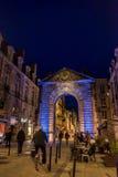 Πύλη Dijeaux στο Μπορντώ, Γαλλία Στοκ φωτογραφίες με δικαίωμα ελεύθερης χρήσης