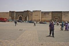 Πύλη EL-Mansour Bab στοκ φωτογραφίες με δικαίωμα ελεύθερης χρήσης