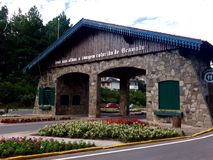 Πύλη Gramado Στοκ φωτογραφία με δικαίωμα ελεύθερης χρήσης