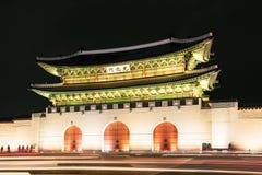 Πύλη Gwanghwamun στη Σεούλ στοκ φωτογραφίες με δικαίωμα ελεύθερης χρήσης