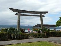 Πύλη Hilo στοκ εικόνα
