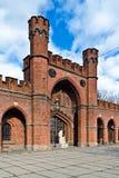 Πύλη Rossgarten - οχυρό Koenigsberg. Kaliningrad (μέχρι το 1946 Koenigsberg), Ρωσία στοκ εικόνες