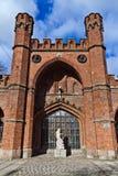 Πύλη Rossgarten - οχυρό Koenigsberg. Kaliningrad (μέχρι το 1946 Konigsberg), Ρωσία στοκ εικόνες με δικαίωμα ελεύθερης χρήσης