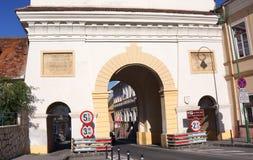 Πύλη Schei, Brasov, Ρουμανία Στοκ Φωτογραφίες
