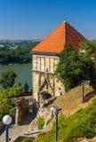 Πύλη Sigismund στη Μπρατισλάβα Castle στοκ φωτογραφίες με δικαίωμα ελεύθερης χρήσης