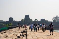 Πύλη Wat Angkor Στοκ φωτογραφία με δικαίωμα ελεύθερης χρήσης