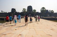 Πύλη Wat Angkor Στοκ εικόνες με δικαίωμα ελεύθερης χρήσης