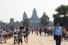 Πύλη Wat Angkor Στοκ Φωτογραφία